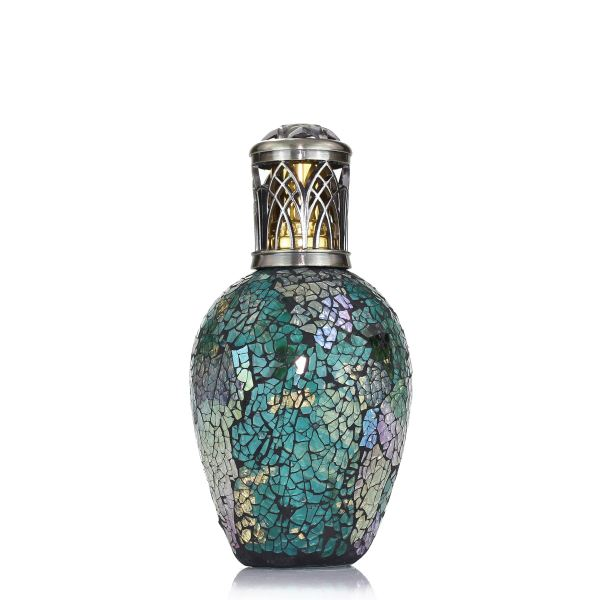Ashleigh&Burwood Mozaik katalitikus lámpa nagy - Peacock Tail