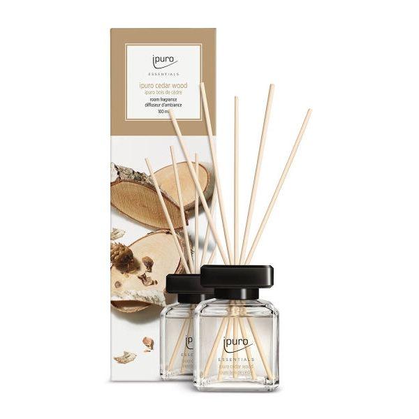iPuro lakásparfüm Essentials 100ml - Cédrus illat