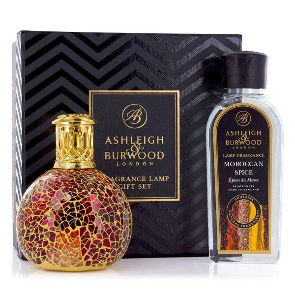 Ashleigh&Burwood Mozaik katalitikus lámpa kicsi - Tahitian Sunset Szett 250ml - Marokkói fűszer
